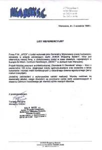 list referencyjny 5