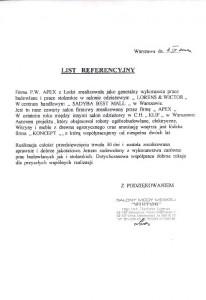 list referencyjny 6