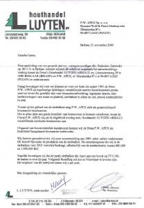 list referencyjny 8