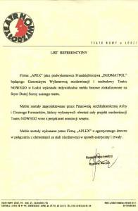 list referencyjny 11