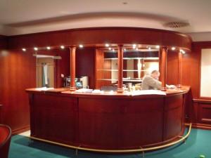 Hotel WERSAL Zakopane - prace wykończeniowe