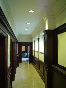 Kompleks Hotelowo - Sportowy - korytarz