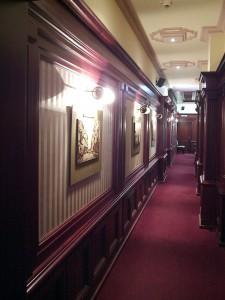 Łódzki Klub Biznesu - korytarz