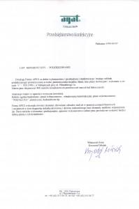 list referencyjny 15
