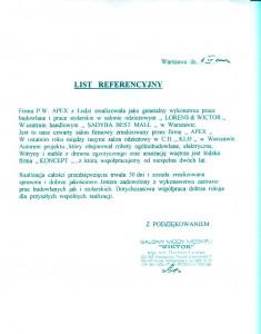 list referencyjny 19